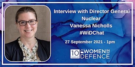 In conversation with Director General Nuclear, Vanessa Nicholls tickets