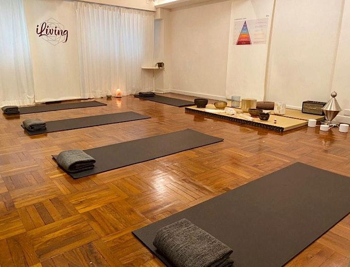 (In person) Crystal Bowl Restorative Yoga 60-min  |  60分鐘水晶缽修復瑜伽 image
