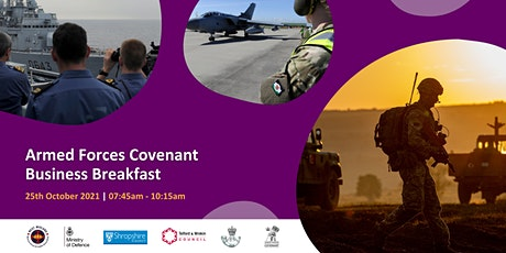 Armed Forces Covenant Business Breakfast tickets