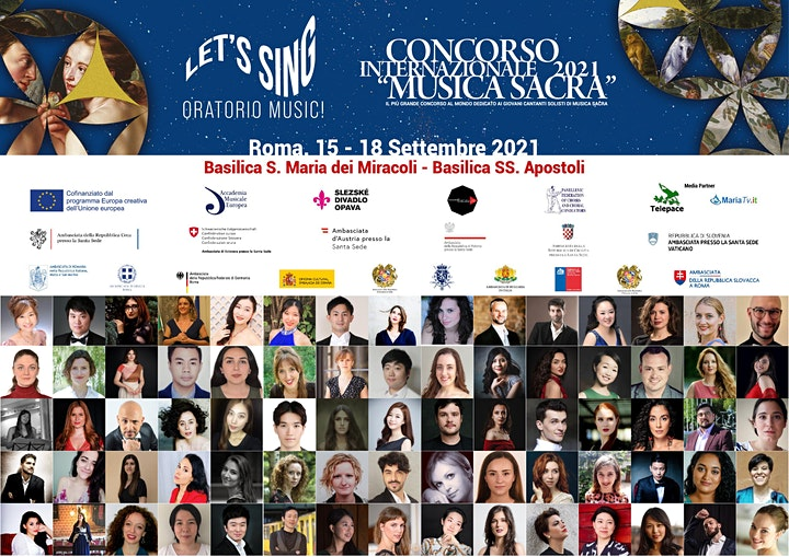 Immagine Finale Concerto di Gala Concorso  Musica Sacra - Let's Sing Oratorio Music!