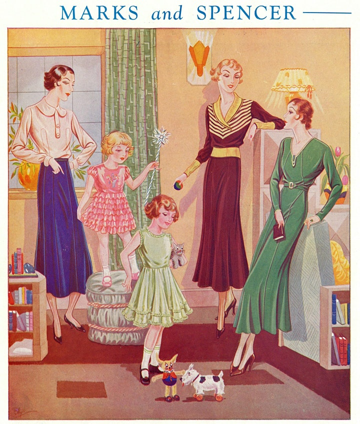 High Street, High Style: Vintage Fashion from the M&S Company Archive image