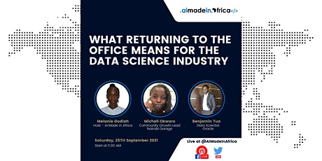 What Returning to the Office Means for the Data Science Industry tickets
