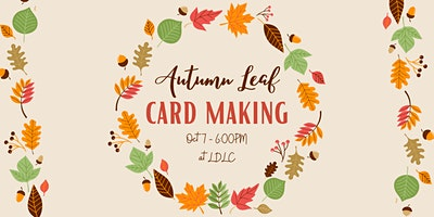 Make Your Own Autumn Leaf Cards
