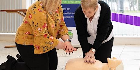 QA L3 Award in Emergency First Aid at Work tickets
