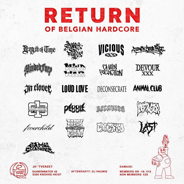 Return Of Belgian Hardcore image