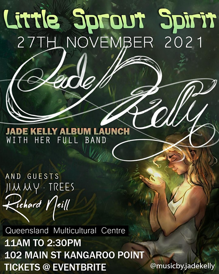 "Jade Kelly ""Little Sprout Spirit"" - Album Launch image"