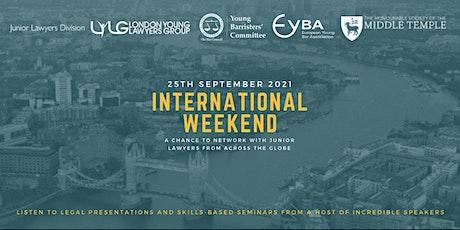 International Weekend 2021 tickets