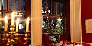 4-Gänge-Weihnachtsmenü im Savoy Hotel Berlin an den...