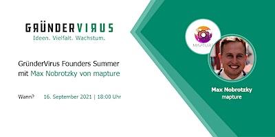 GründerVirus Founders Summer: mapture