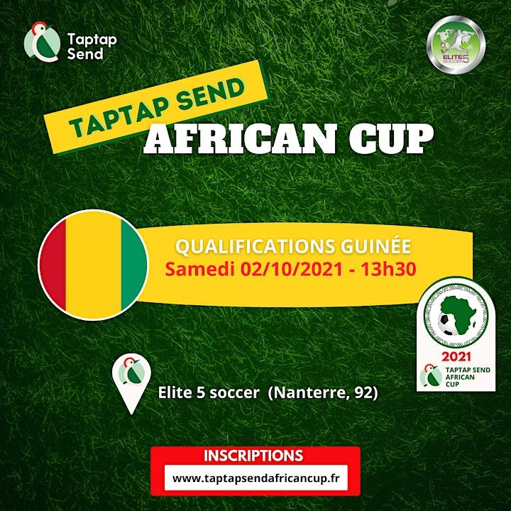 Image pour Qualifications Guinée  - TAPTAP SEND AFRICAN CUP