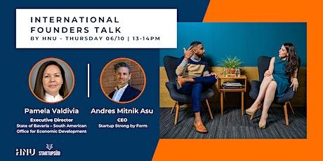 International Founders Talk Vol. 3 tickets