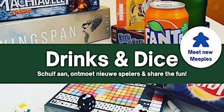 Meet new Meeples: Drinks and Dice meeting 23 september tickets