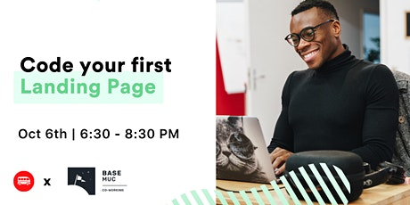 Workshop - Code Your First Landing Page tickets