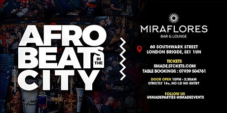 AfroBeats In The City - #SMADESaturdays tickets