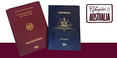 Oct 2021: Online Info/Coaching Seminar - Dual Australian-German Citizenship tickets