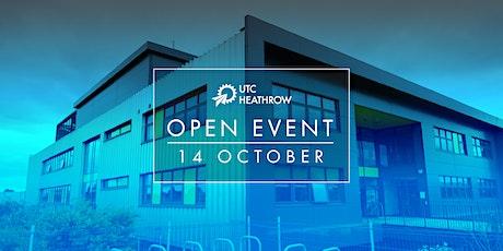 UTC Heathrow Open Event - Thursday 14 October 2021 tickets