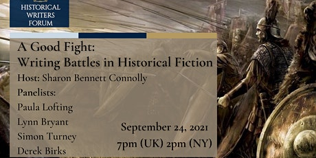 A Good Fight: Writing Battles in Historical Fiction tickets
