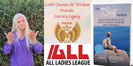 G100 Oneness & Wisdom Literary Legacy - Author Carina Johansson tickets