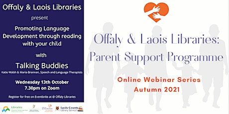 Promoting Language Development through reading with your child tickets