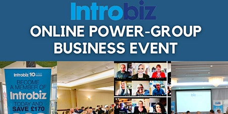 Online Power Group Business Event Tickets