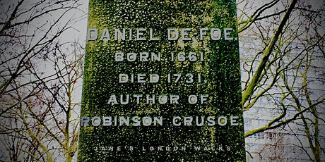 Virtual Tour - The Fortunes and Misfortunes of Daniel Defoe tickets