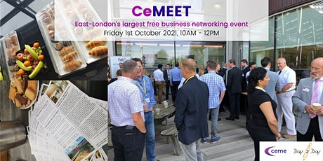 CeMEET - East London's Largest Free Business Networking Event tickets