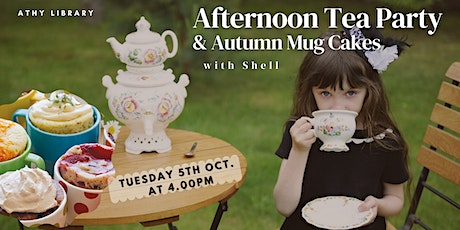 Afternoon Tea Party & Autumn Mug Cakes With Shell tickets