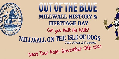 Millwall FC History & Heritage Walking Tour - 25 Years on the Isle of Dogs tickets