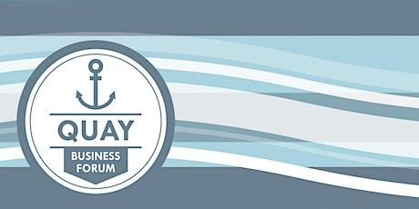 October Quay Business Forum tickets
