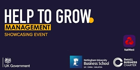Help to Grow Showcasing Event - What is it and how will it benefit me? tickets
