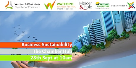 Sustainability for Businesses tickets