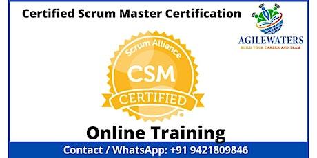 CSM - Certified Scrum Master Online Training tickets