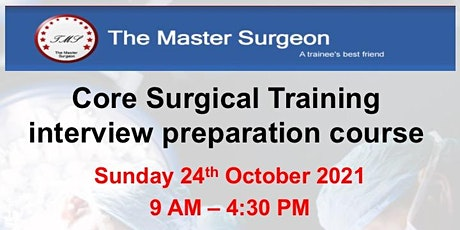 Core Surgical Training Interview Preparation Course tickets
