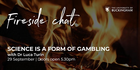 Fireside Chat - Dr Luca Turin tickets