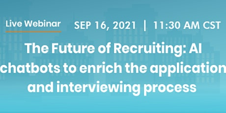 The Future of Hiring: Chatbots in Recruitment Process tickets