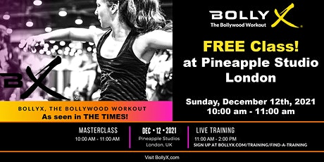 BollyX - The Bollywood Workout - FREE Class tickets
