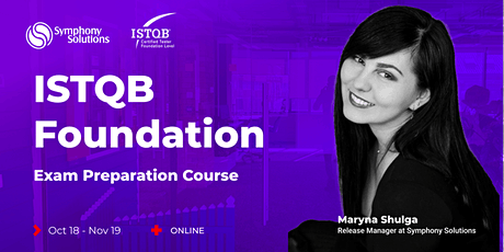 ISTQB Foundation exam preparation course tickets