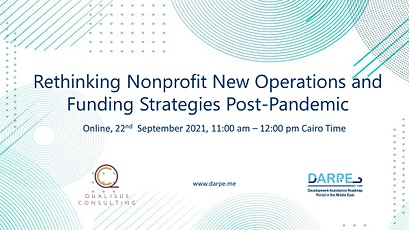 Rethinking Nonprofit New Operations and Funding Strategies Post-Pandemic tickets