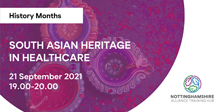 History Months - South Asian Heritage in Healthcare tickets