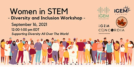 Women in STEM - Diversity and Inclusion Workshop tickets