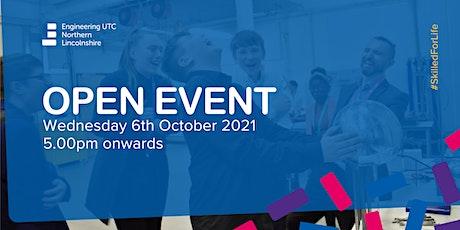 ENL UTC Open Event tickets