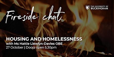 Fireside Chat - Hattie Llewlyn-Davies, OBE tickets