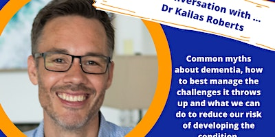 A Conversation with …Dr Kailas Roberts