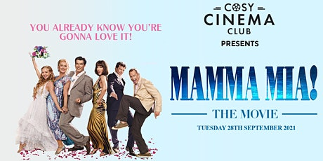 Cosy Cinema Club - Mamma Mia Sing-A-Long! tickets