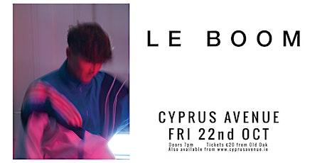 LE BOOM tickets