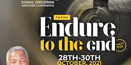 Zonal Children Ministers Conference tickets