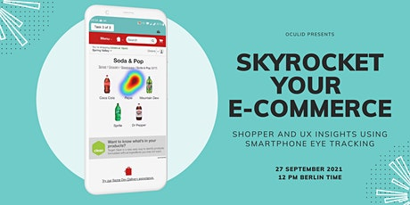 Skyrocket your e-commerce:customer experience using smartphone eye tracking tickets