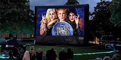 Halloween showing of Hocus Pocus on Shrewsbury's Outdoor cinema tickets