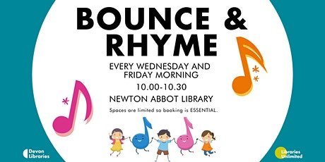 Bounce and Rhyme tickets