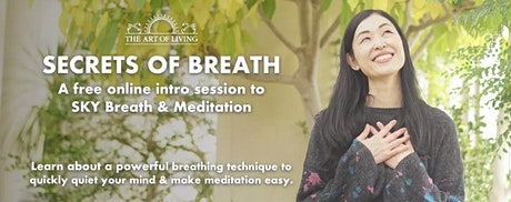 Secrets of Breath: Introduction to SKY Breath workshop tickets